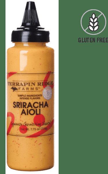 Terrapin Ridge Farms Sriracha Aioli Garnishing Squeeze