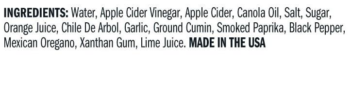 Terrapin Ridge Farms Carnitas Simmer Sauce ingredients