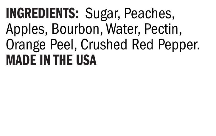 Terrapin Ridge Farms Hot Pepper Peach Bourbon Sauce ingredients