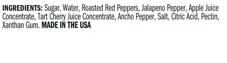 Terrapin Ridge Farms Cherry Ancho Chili Sauce ingredients