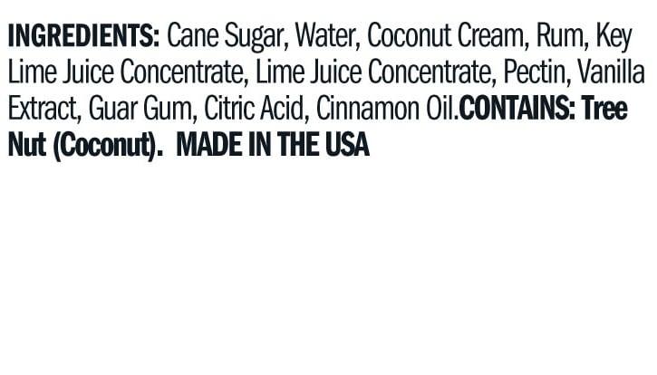 Terrapin Ridge Farms Key Lime Jelly ingredients