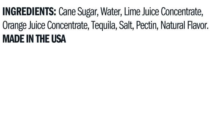 Terrapin Ridge Farms Margarita Jelly ingredients