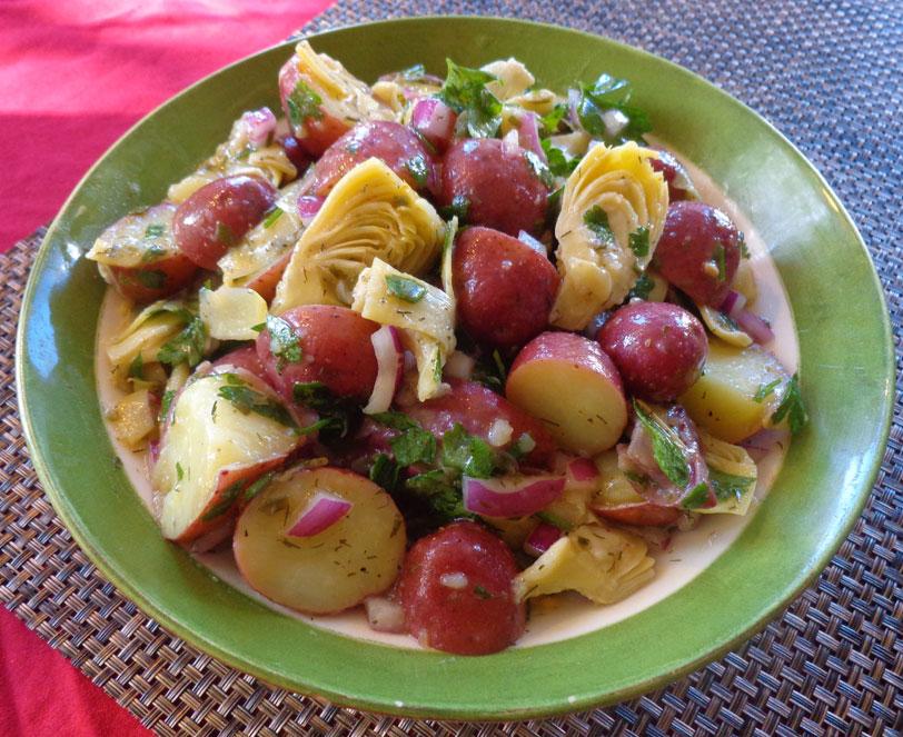 artichoke-potato-